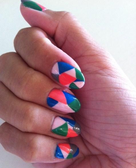 Vancouver Marathon manicure