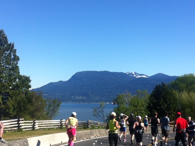 Vancouver Marathon 19k mark