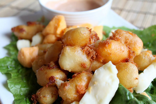 fried-cheese-curds from Simple Comfort Food