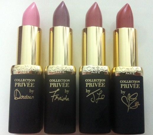 Loreal Collection Privee lipsticks