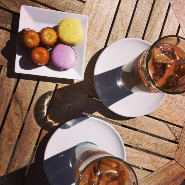 Nadege coffee break