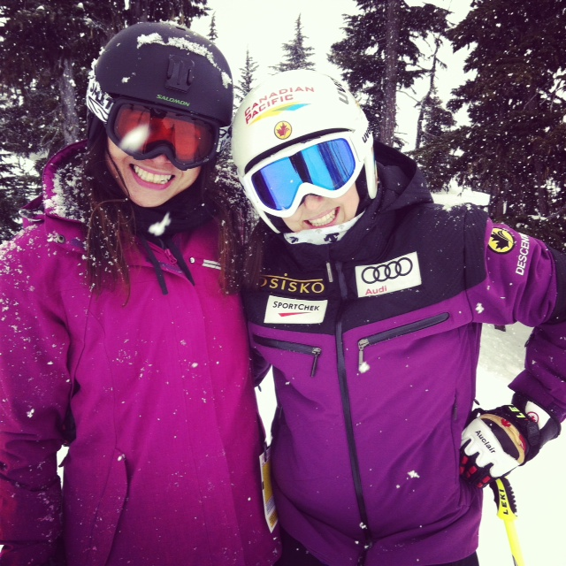 Serwa and me in Whistler March 2014