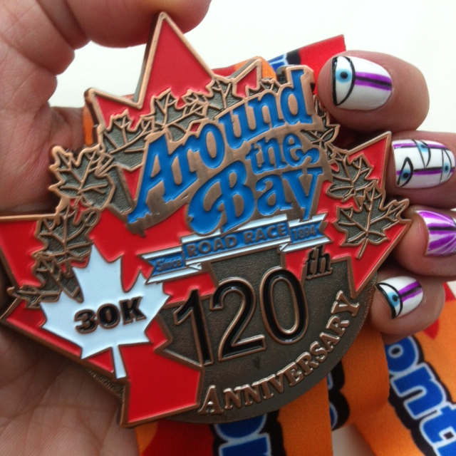 Around the Bay 2014 medal