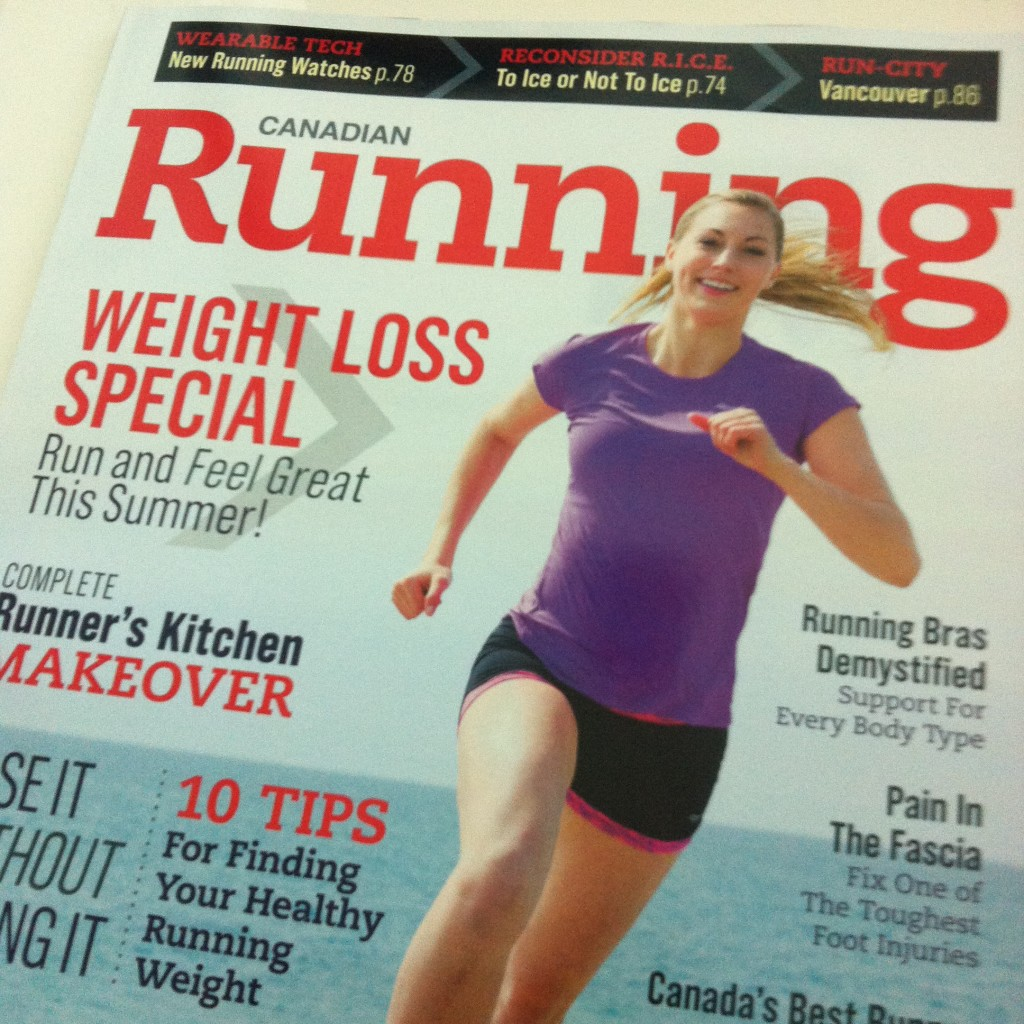 Canadian Running July August 2014