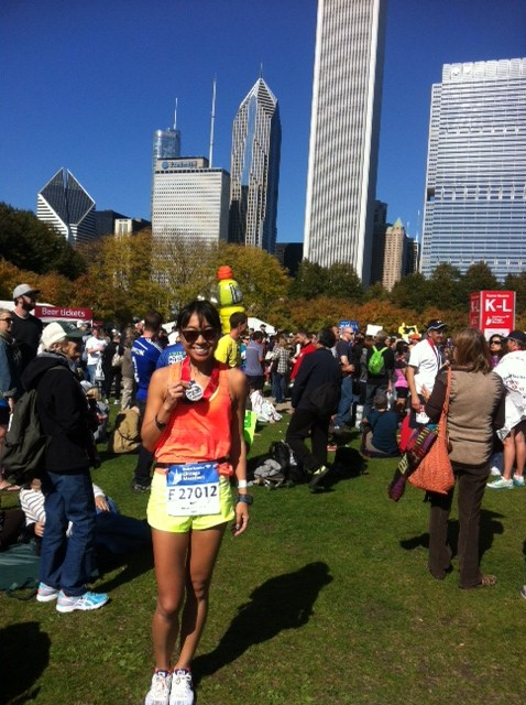 post Chicago Marathon