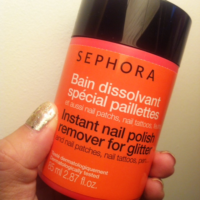 Nail Polish Remover That Works: Health & Swellness » Sephora Instant Nail Polish Remover