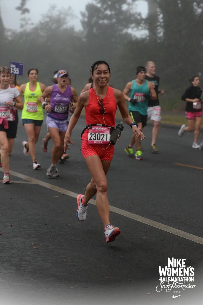 Nike Women's San Fran half-marathon 2014