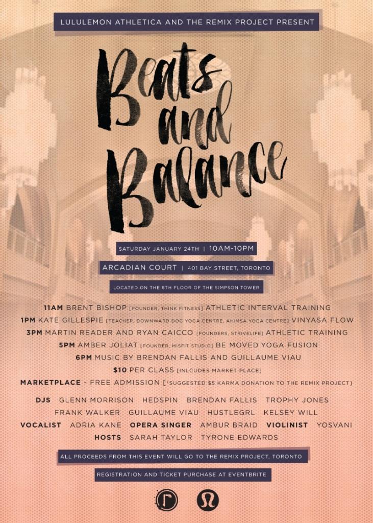 Beats & Balance Invite
