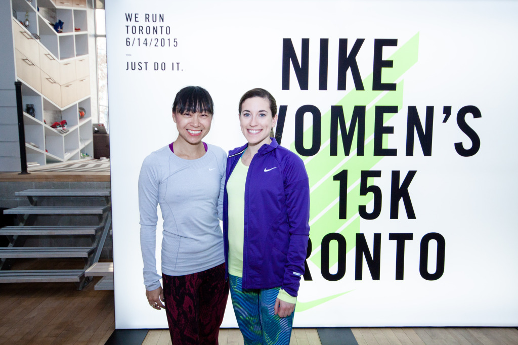 With Olympic athlete Sheila Reid