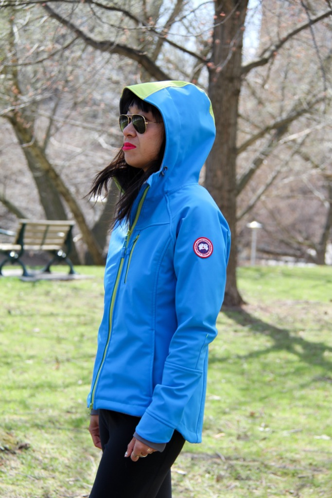 Canada Goose spring 2015 Trenton with hood up