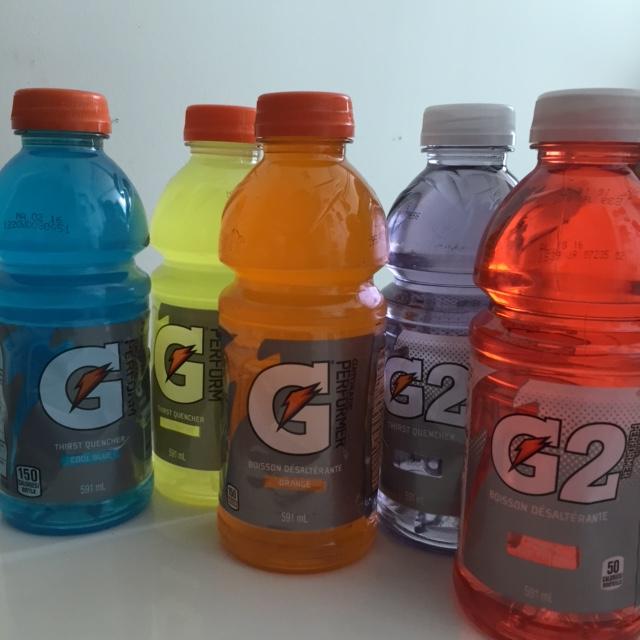 Gatorade and G2