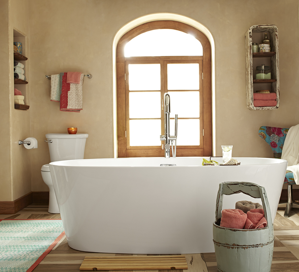 AS Serin Freestanding Tub - Lifestlye1