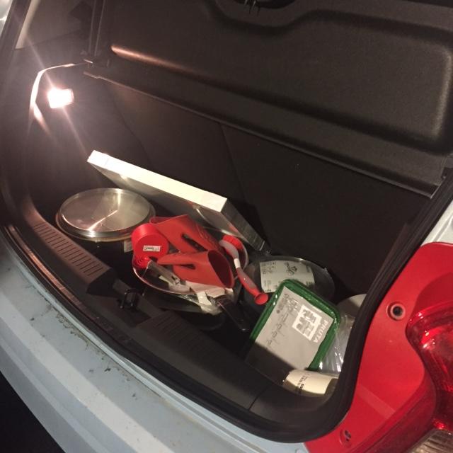 Spark trunk space