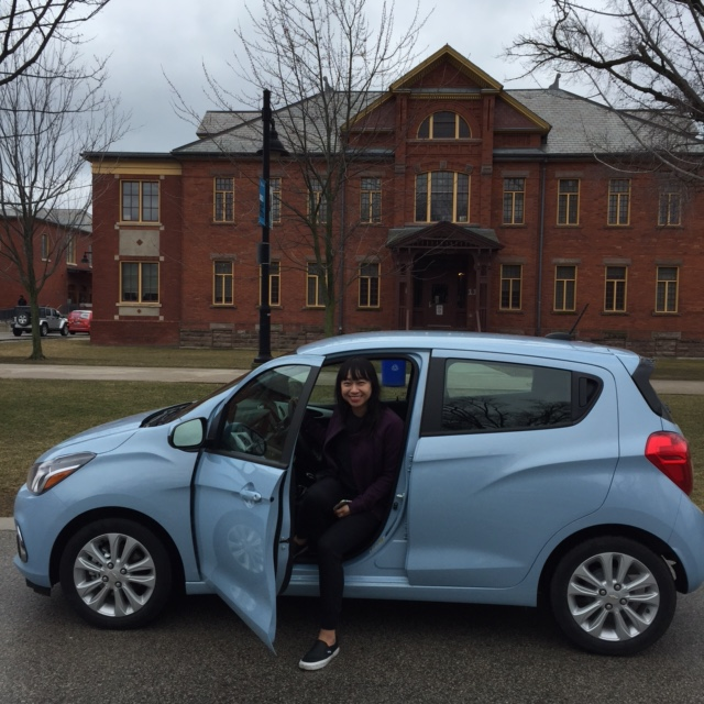 Chevy Spark at Humber College Lakeshore
