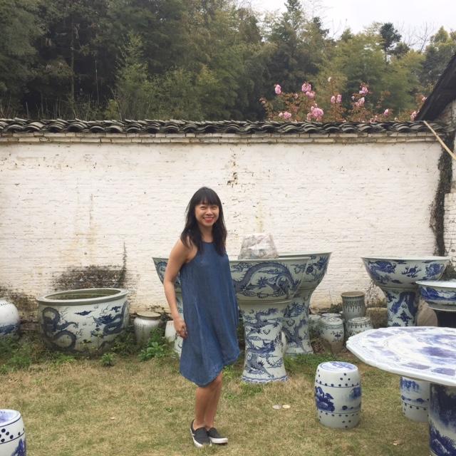 at Jingdezhen