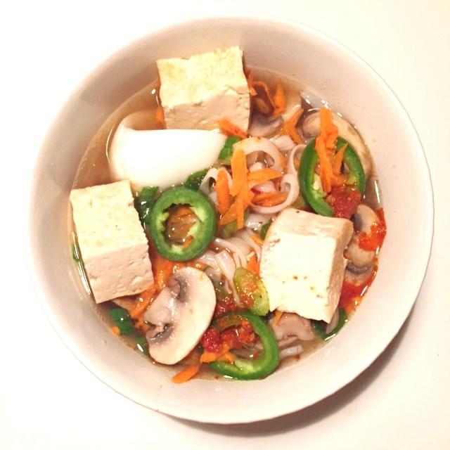 spicy bowl of NuPasta