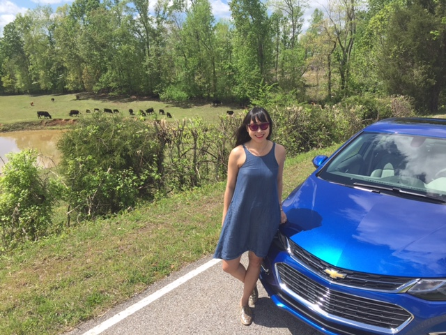 Chevy Cruze finding new roads