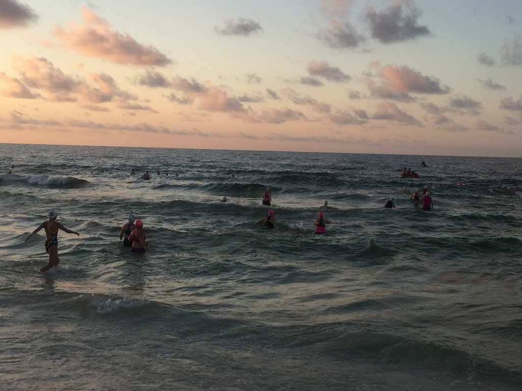 Alabama Coastal Triathlon Tri It On swim