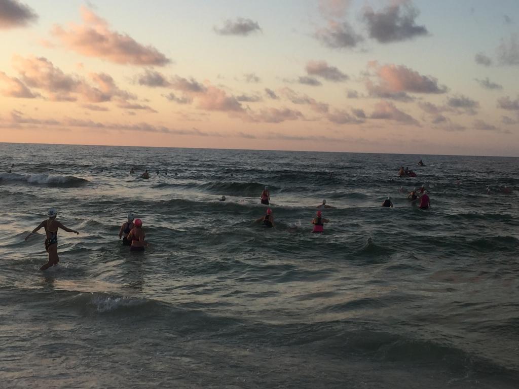 Alabama Coastal Triathlon Tri It On swim