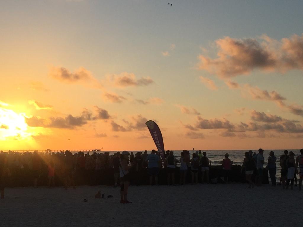 pre-tri sunrise