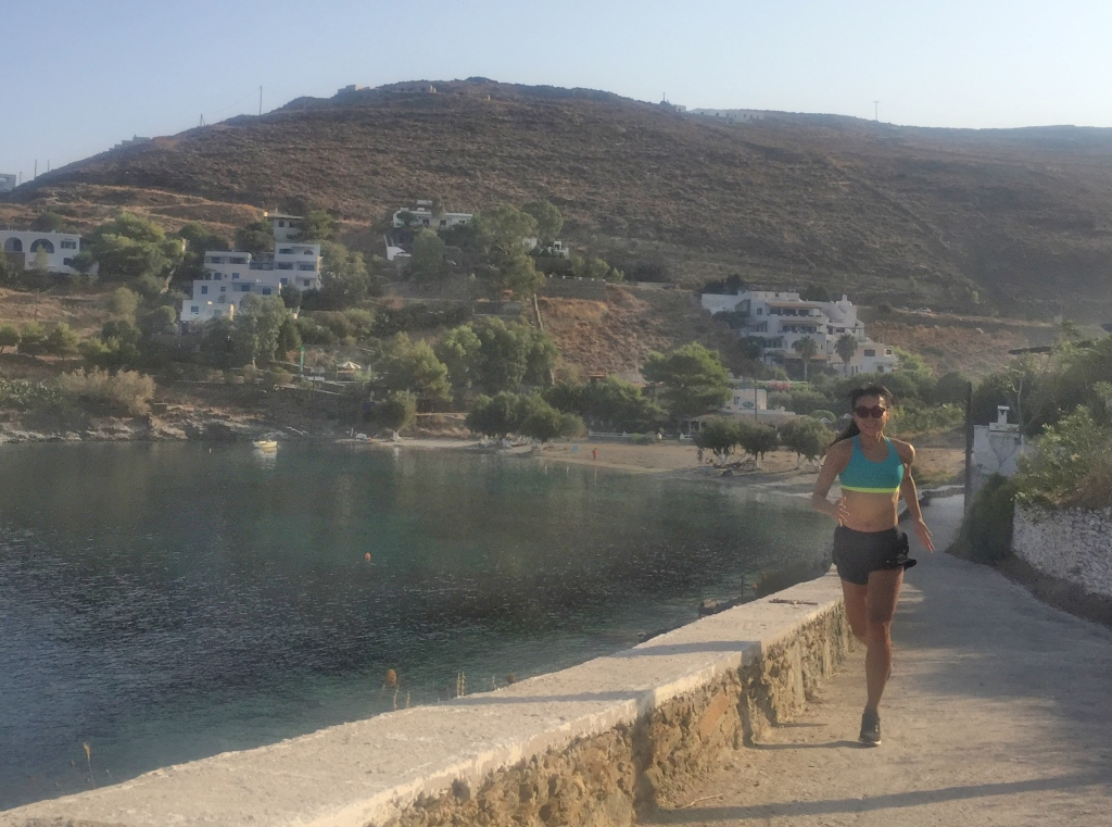 Running in Greece