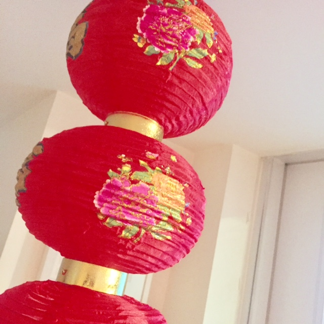 Chinese New Year lantern from RCSS
