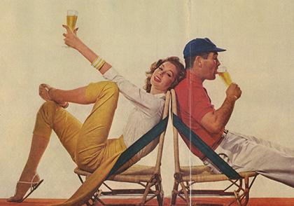 Pabst Richard Avedon history_vintage_ad_1957c