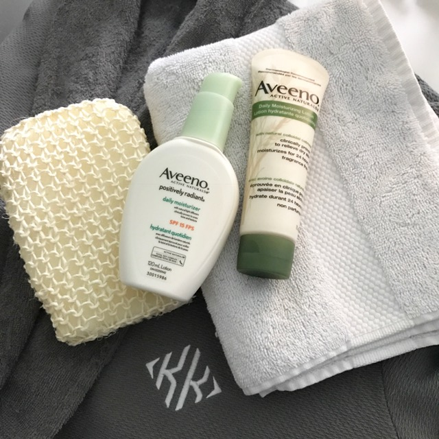 Aveeno at home essentials