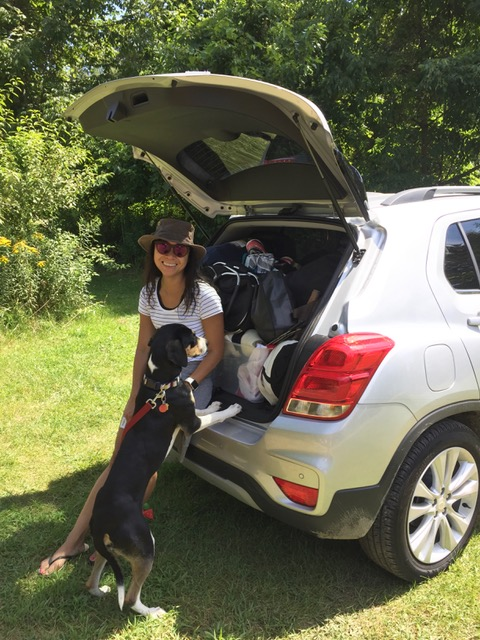 Chevy Trax_camping in Rondeau