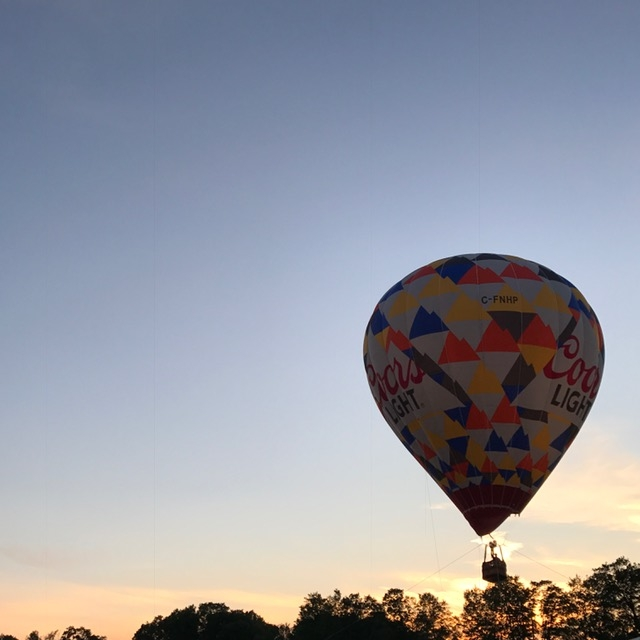 WayHome 2017 Coors hot air balloon