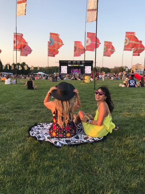 WayHome 2017 WayHome field lounging