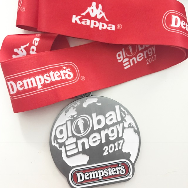 Global Energy Race medal