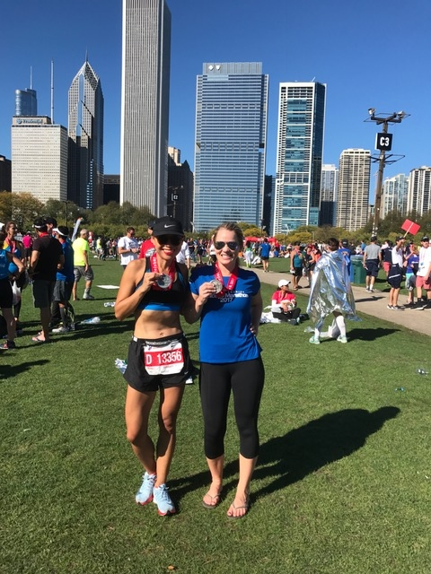 Chicago Marathon 2017 post race party