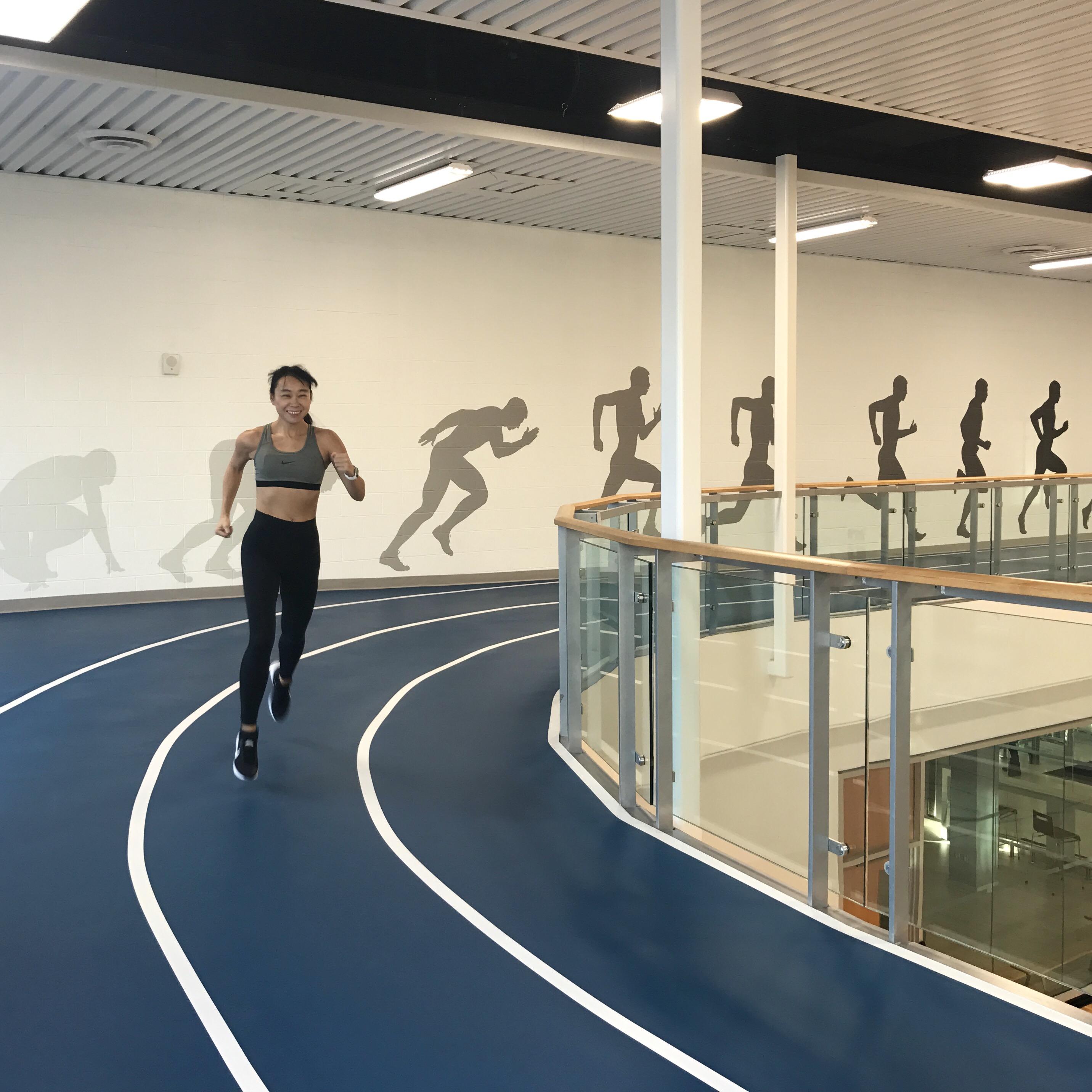 YMCA running track
