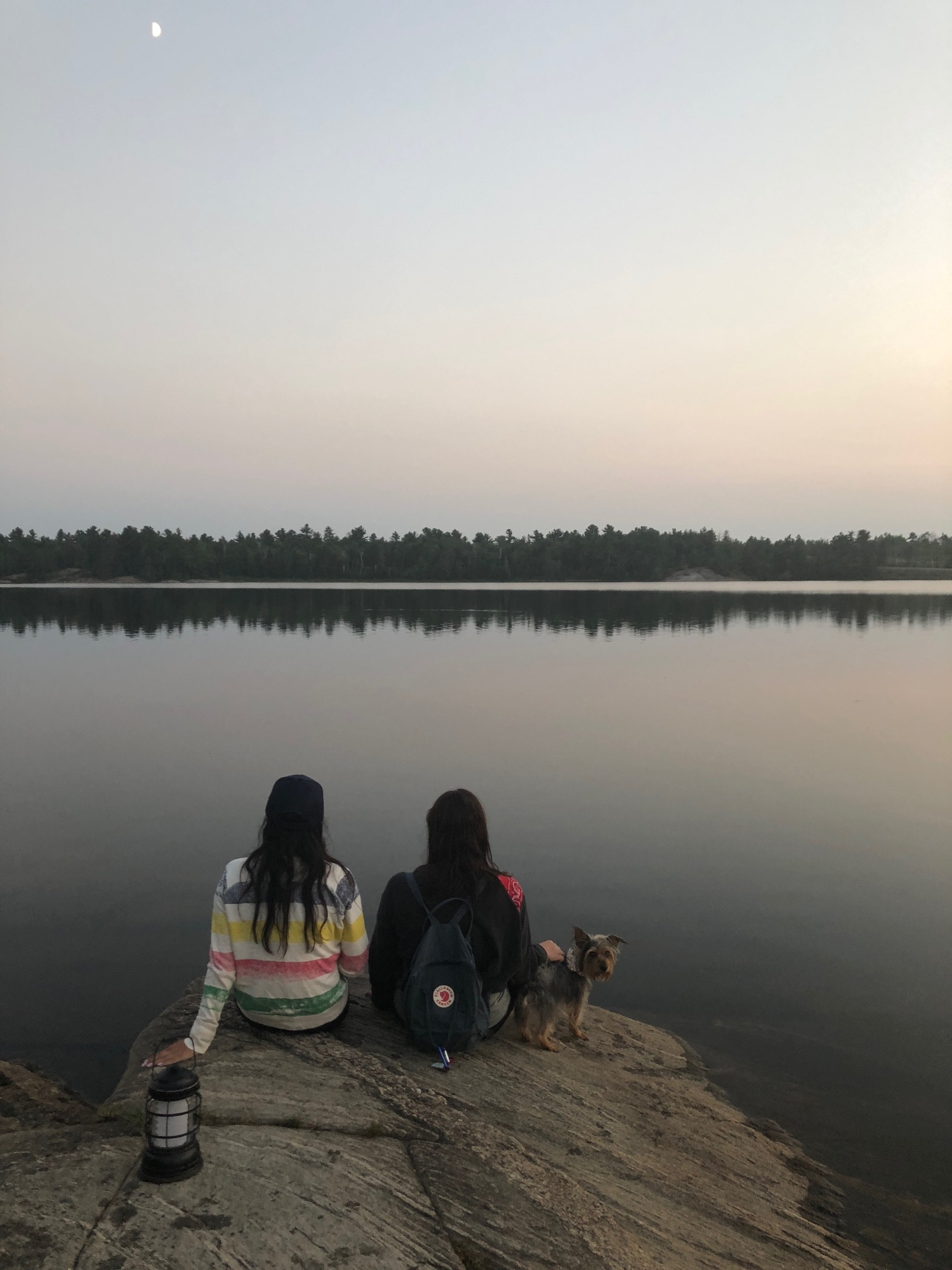 Grundy Lake camping